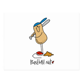 Baseball Nut T-shirts and Gifts Postcards