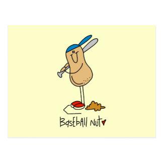 Baseball Nut T-shirts and Gifts Postcard