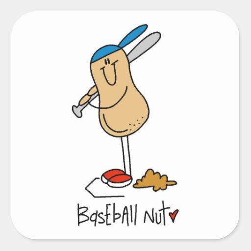 Baseball Nut T-shirts and Gifts Sticker