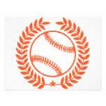 Baseball Olive Branch and Star Invitations