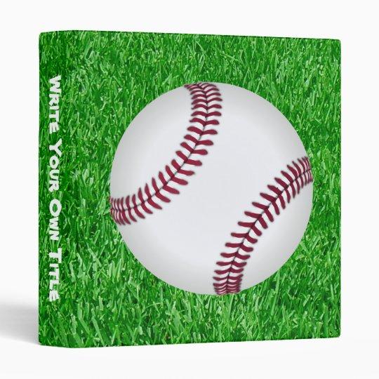 Baseball On The Lawn Binder