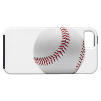 Baseball on white background iPhone 5 covers