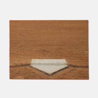 Baseball or Softball Home Plate Door Mat