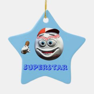 Baseball Christmas Tree Ornament
