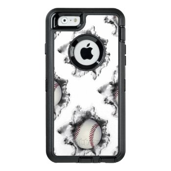 Baseball Otterbox Defender Iphone Case by partygames at Zazzle