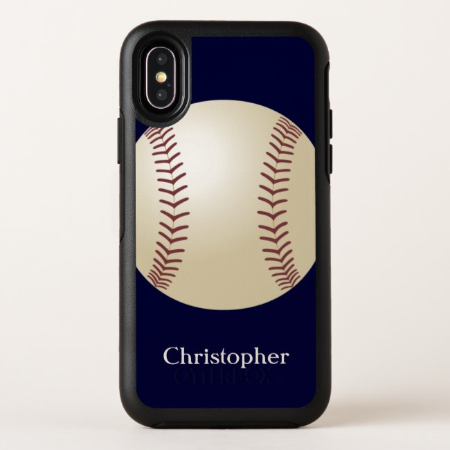 Baseball Otterbox iPhone XS, XS Max, XR