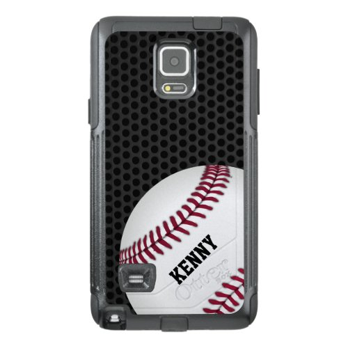 Baseball Otterbox Samsung Note 4 Case Phone Case