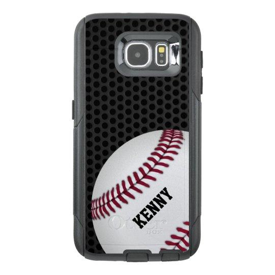huge discount a1304 e9273 Baseball Otterbox Samsung S6 Case