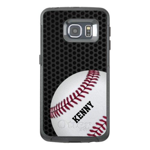 Baseball Otterbox Samsung S6 Edge Case Phone Case