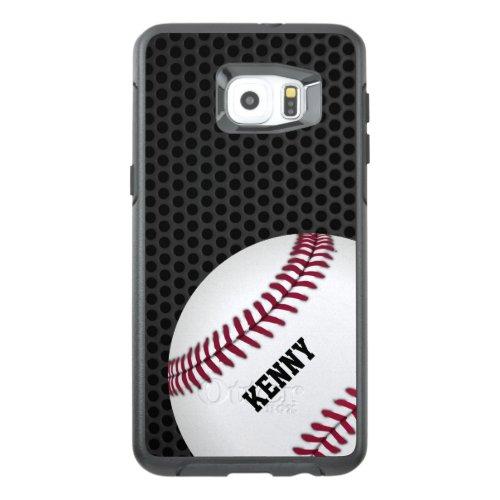 Baseball Otterbox Samsung S6 Edge Plus Case Phone Case