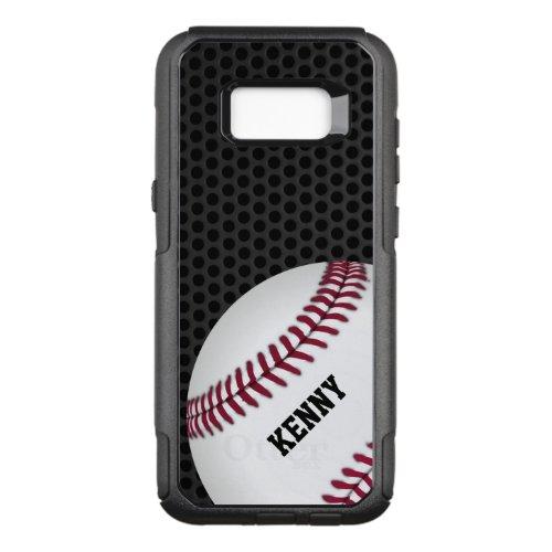 Baseball Otterbox Samsung S8 Case Phone Case