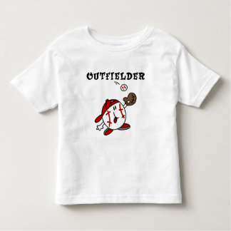 Baseball Outfielder Tshirts and Gifts