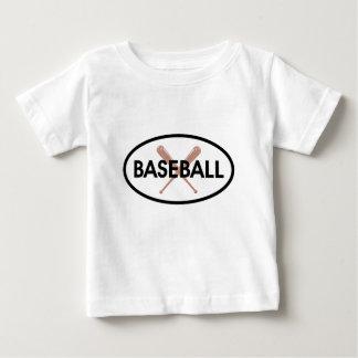Baseball Oval Baby T-Shirt