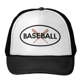 Baseball Oval Trucker Hat