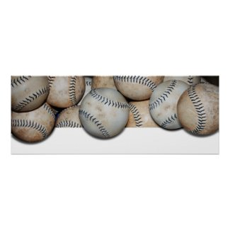 Baseball Overflow Poster