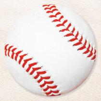 Baseball Paper Coasters