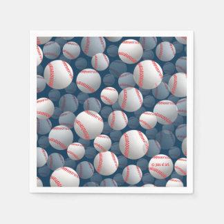 baseball disposable napkin