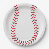 Baseball. Paper Plates  sc 1 st  Zazzle & Baseball Glove Plates | Zazzle