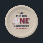 "Baseball Paper Plate 7&quot; Paper Plate Baseball Party<br><div class=""desc"">Baseball 7&quot; Paper Plate. 