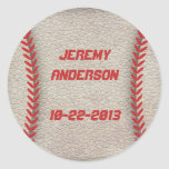 Baseball Party Stickers