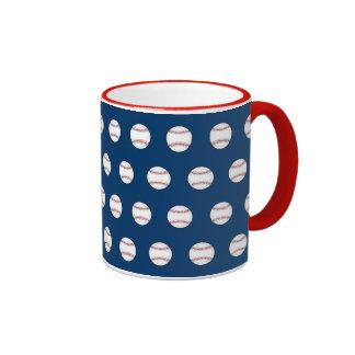 Baseball Pattern Mug