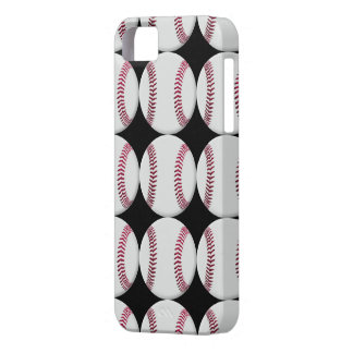 Baseball Pattern on black or any color iPhone SE/5/5s Case