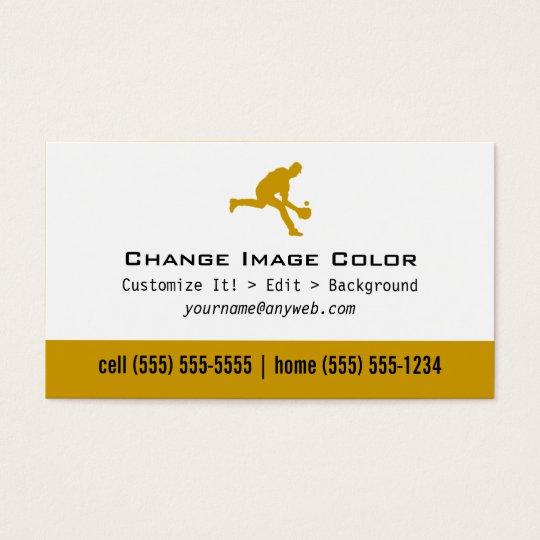 Baseball - Personal Business Card