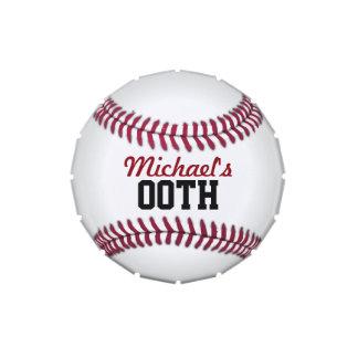 Baseball Personalized Candy Tins