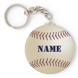 Baseball Personalised Keychain keychain