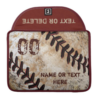 Baseball Personalized MacBook Pro Case 13, 15 in