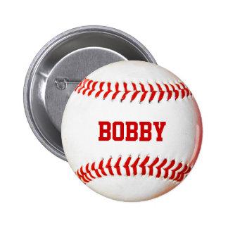 Baseball Personalized Pinback Button