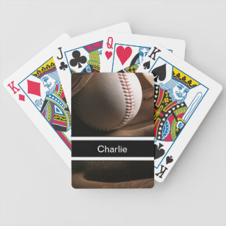Baseball Personalized Playing Cards