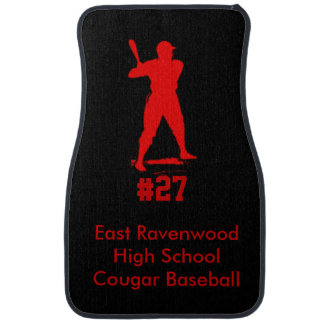 Baseball Personalized Floor Mat