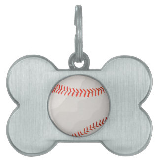 Baseball Pet ID Tags