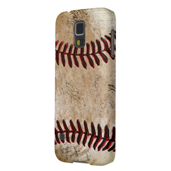 Baseball Phone Cases Rustic Old Baseball Galaxy S5