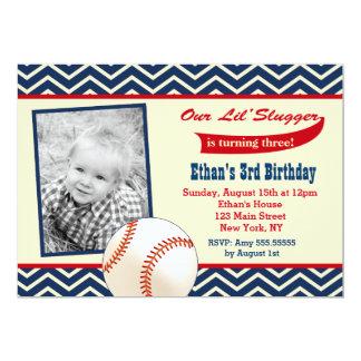 Baseball Birthday Party Invitations Announcements Zazzle
