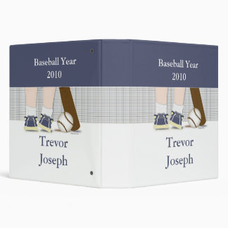 Baseball Photo Book Personalized 3 Ring Binder