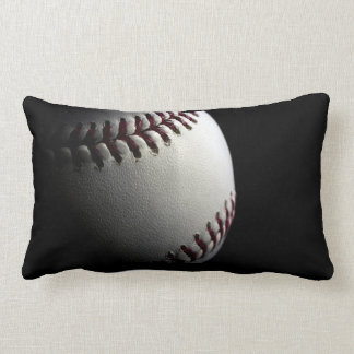 baseball photo close up pillow