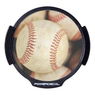 Baseball Photo LED Car Decal