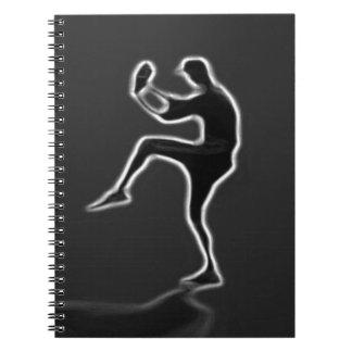 BASEBALL Photo Notebook (80 Pages B&W) Organize