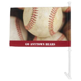 Baseball Photo Car Flag