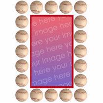 Baseball Photoframe Statuette