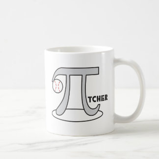 Baseball Pi-tcher - Funny Pi Coffee Mug