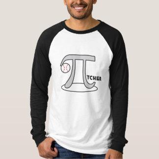 Baseball Pi-tcher - Funny Pi Shirt