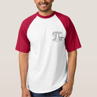 Baseball Pi-tcher - Funny Pi T-shirt