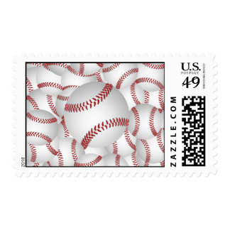 baseball pile stamps