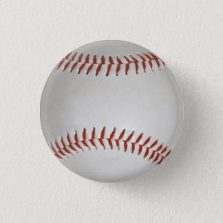 Baseball Pinback Button