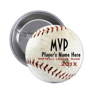Baseball Pinback Button