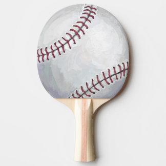 Baseball Ping Pong Paddle