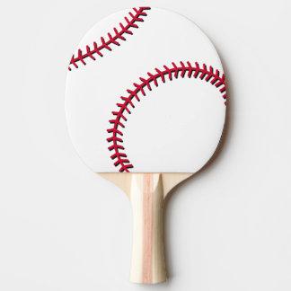 Baseball Ping-Pong Paddle